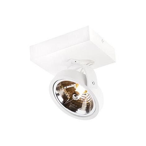 LED Spot de Plafond Design réglable 1 lumière blanc- Go G9 Qazqa Design Luminaire interieur Rond