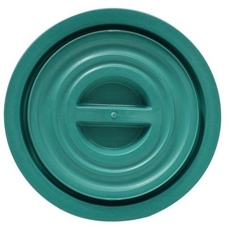 COPERCHIO PER BIDONE IMMONDIZIA SOVRAPPONIBILE per lt. 50 - verde