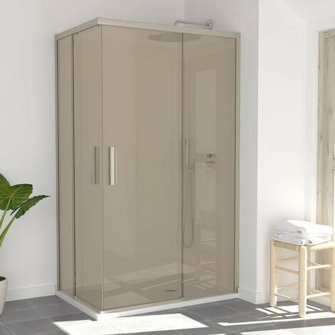 BERLIN Mampara de ducha entrada esquina 120x80
