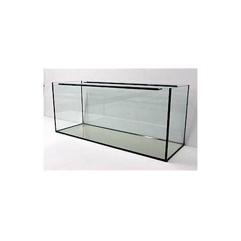 Aquarium - cuve nue en verre -100x40x40cm - 160L