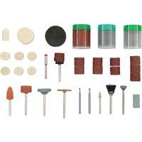 Mole Rotative Abrasive  Assortite in serie 10 Pezzi Ø Gambo 3-6 mm Maurer