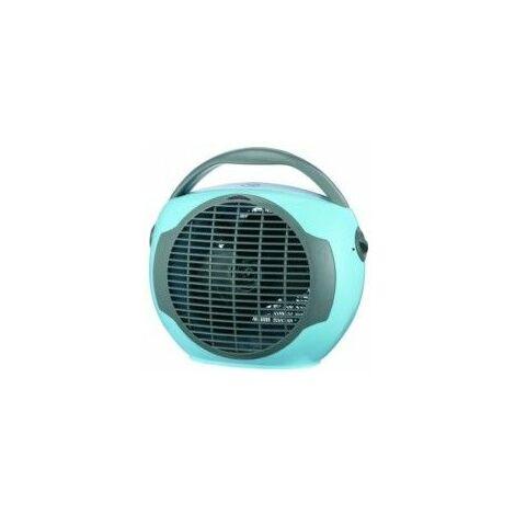 Calefactor Electrico Vertical 1000/2000W Termostato Az/Gr Vivahogar 0