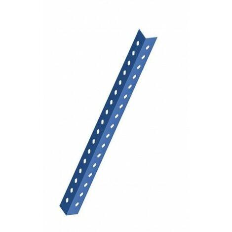 Angulo Estanteria Ranurado 3,0 Mt P35 Metal Azul Mecalux