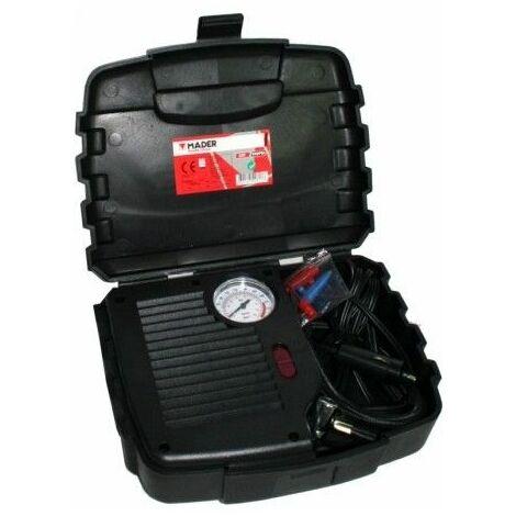 Compresor Presion Mini 250Psi Manom 12V Mal Mader