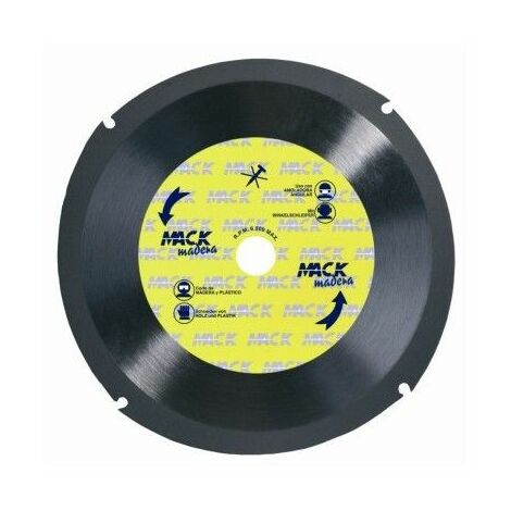 Disco Corte Tronzador Madera 230 Mm Macodiam