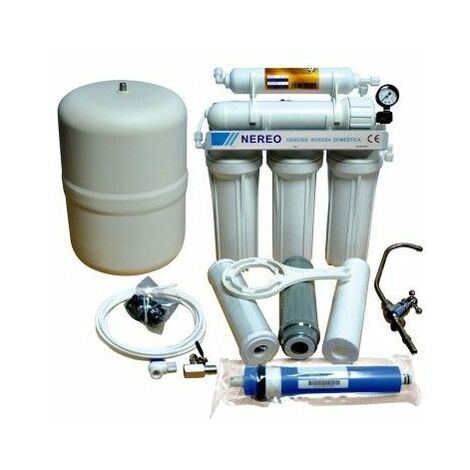 Osmosis Inversa 5 Etapas Hidrowater Nereo Ro-0206-12