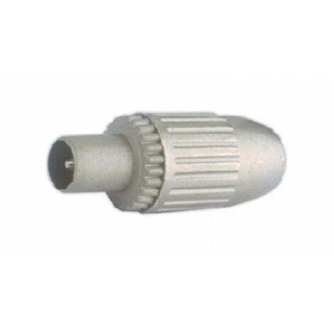 Conector Antena Coaxial Hembra Recto Blindado Met Electro Dh