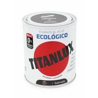 Esmalte Satinado. 750 Ml Taba Al Agua Ecologico Titanlux
