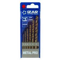 Broca Metal Juego Hss-Cobalto 1462 Izar 6 Pz