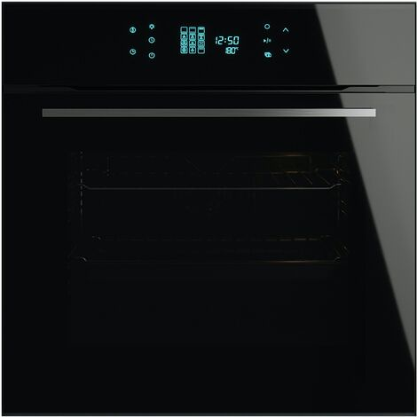 ART28764 60CM JET BLACK GLASS TOUCH CONTROL OVEN