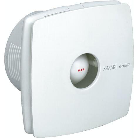 01010000 Cata XMART10 White Bathroom Fan Extractor 100MM