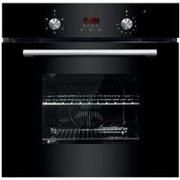 ART28735 60cm Built-in Single Black True Fan Electric Oven Eco Clean
