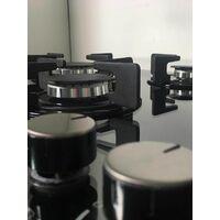 ART28949 60CM MIRROR GAS ON GLASS HOB