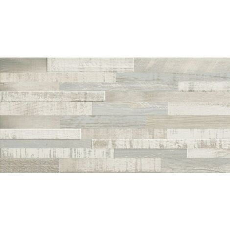 Carrelage imitation bois clair rect 30x60 DECK WISCONSIN SUMMER MIX - 1.08m²