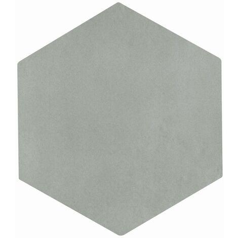 Carrelage tomette grise 22.5x26cm CONCRET ROMA - 0.66m²