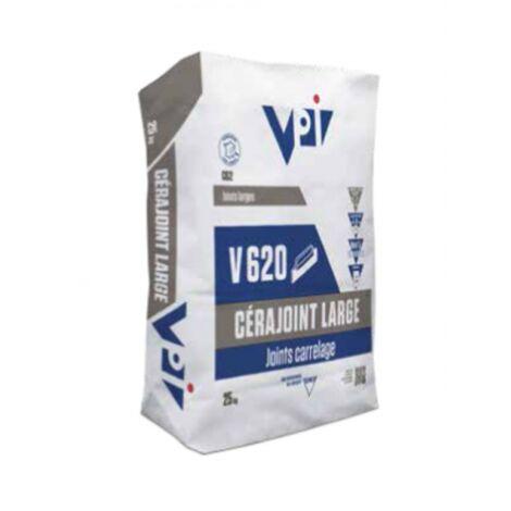 Cerajoint large pour carrelage V620 ton pierre - 25kg