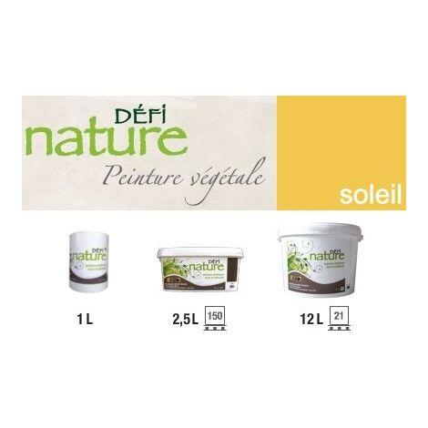 Peinture naturelle végétale vert Soleil | Seau (2.5L)