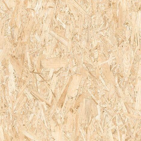 Carrelage rectifié imitation OSB bois aggloméré STRAND 59.3X59.3 cm - 1.055 m²