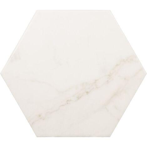 Carrelage hexagonal 17,5x20 HEXAGON CARRARA MATT - 0.71m²