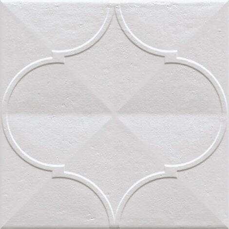 Faience murale brillante blanche PASHTUN BLANCO 20x20cm - 1 m²
