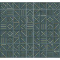 Faïence géométrique turquoise 23x33.5 cm NAGANO TURQUESA- 1m²
