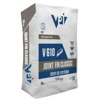 Joint fin classic pour carrelage V610 antracite – 5 kg