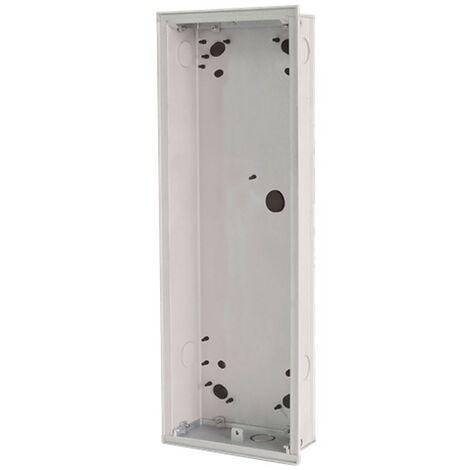 Boite à encastrer 4 modules pour bouton-pussoir abb 41024F