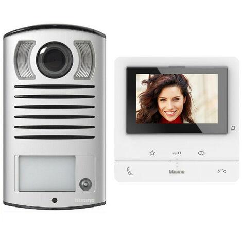 Ki vidéophone Bticino CLASSE100 V16B 2 fils monofamilial 364613