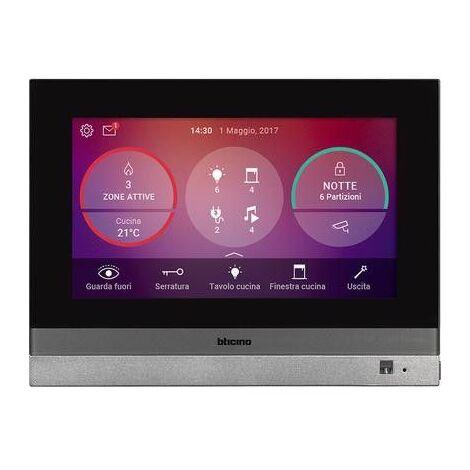 Home Touch 7 Bticino pour la gestion de toutes les fonctions de MyHOME_Up 3488