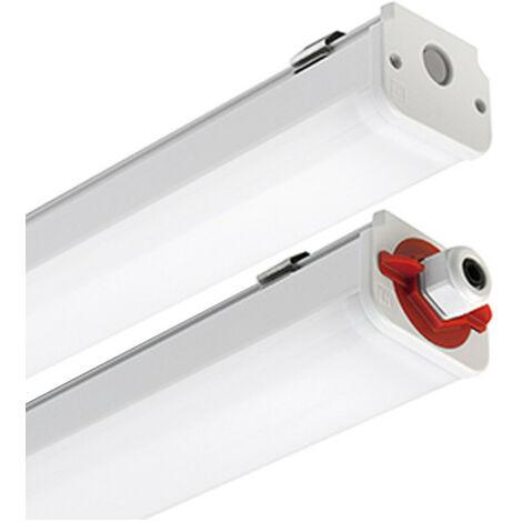 Plafonnier étanche LED, Prisme 60W 4000K 1,5 M 305954