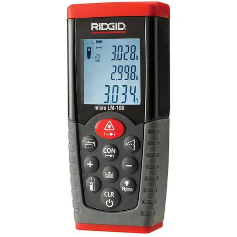 Mètre de Distance de Laser de bande Ridgid micro LM-100 36158