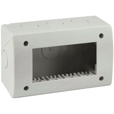 Idrobox Container Ave 4 modules pour tuyau RAL7035 IP40 44Q04