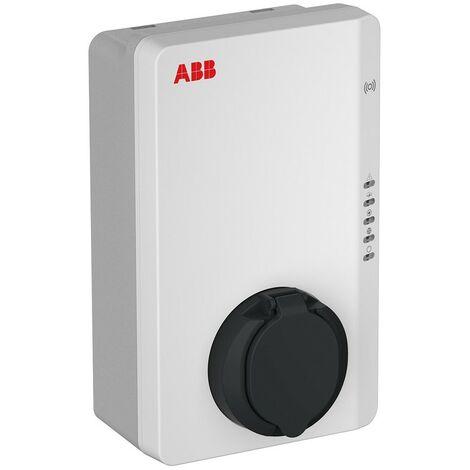 Chargeur Terre AC Wallbox Abb triphasé 22KW 1 Prise T2 avec RFID 6AGC082589