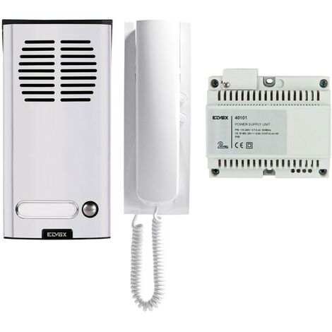 Kit Interphone un appartement Elvox Vimar 2 Fils K8879.01