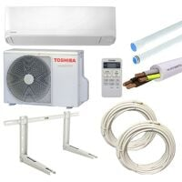 Climatiseur Toshiba Seiya 2.5KW 9000BTU R32 A++/A+ avec kit montage