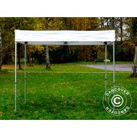 Pop up gazebo FleXtents Pop up canopy Folding tent® Xtreme 50 Exhibition 3x3 m, White, Flame Retardant
