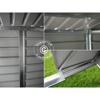 Garden shed 2.13x1.27x1.90 m ProShed®, Aluminium Grey
