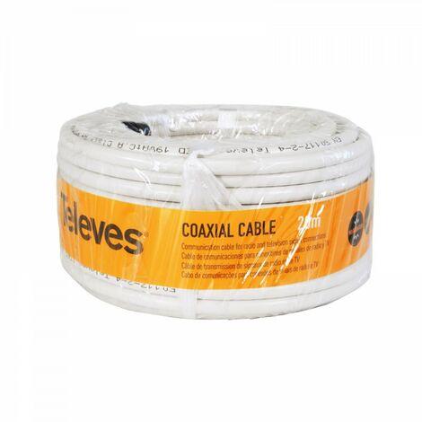 Cable antena Televes 435501 rollo 20 metros