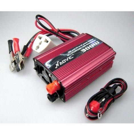 Adaptador corriente 12V-220V 300W para coche