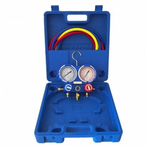 Manometro para aire acondicionado climatizacion, refrigeracion Value VMG-2-R22B