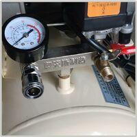 Compresor Aire Silencioso Sin Aceite 50L OTS550W x 2-50L