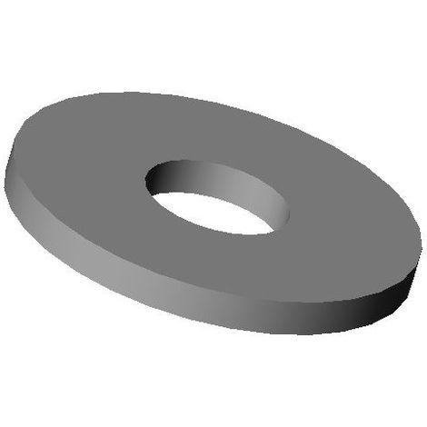 Ajile - Pour vis M10 : Rondelle plastique large pour vis diam. M10