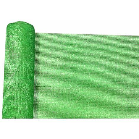 Mini rollo de malla ocultacion total 95% (140g/m2) 1 x 10 verde