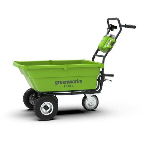 Brouette Électrique Greenworks 40v (sans Batterie Ni Chargeur)