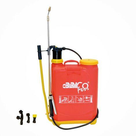 Pulverizador Manual , Capacidad 16 Litros Con Lanza Extensible Anti Corrosión - Bricoferr