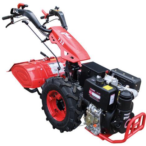 Motocultor Con Motor De 270cc a Diesel 9HP - Kawapower