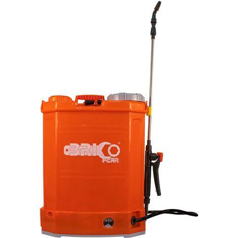 Pulverizador Eléctrico Recargable 16L Con Batería De Litio - Bricoferr
