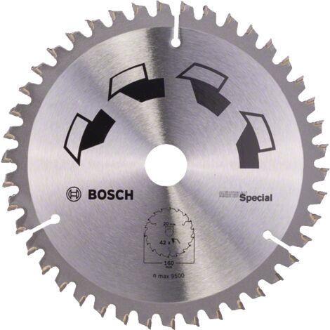 Bosch Lame scie circulaire Multimatériaux 160x20/16x2,5mm ; 42D