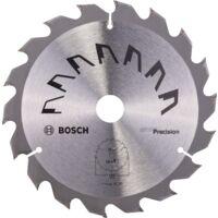 Bosch Lame scie circulaire Précision Bois 160x20/16x2,5mm ; 18D