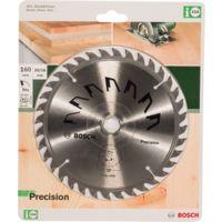 Bosch Lame scie circulaire Précision Bois 160x20/16x2,5mm ; 36D